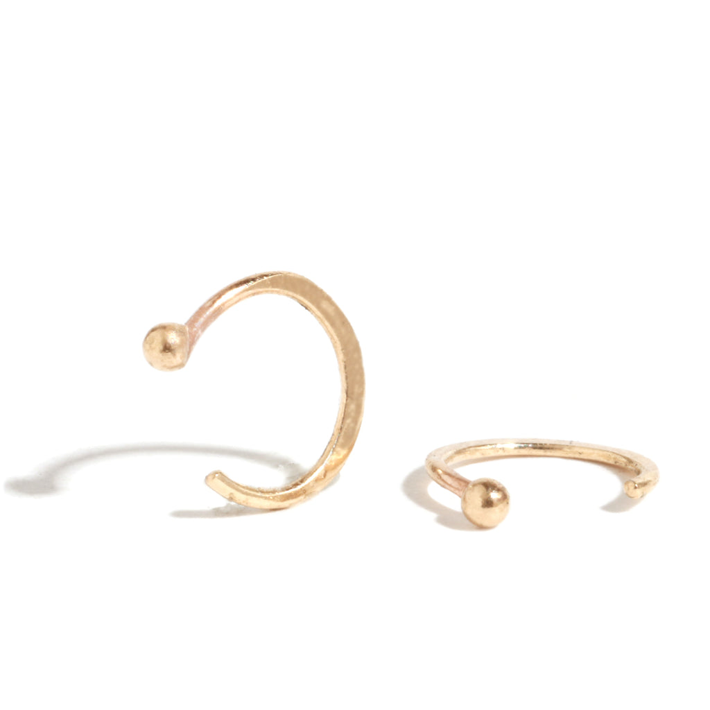 Mini hug hoops - Melissa Joy Manning Jewelry
