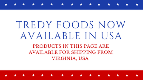 Tredy Foods - Now in USA