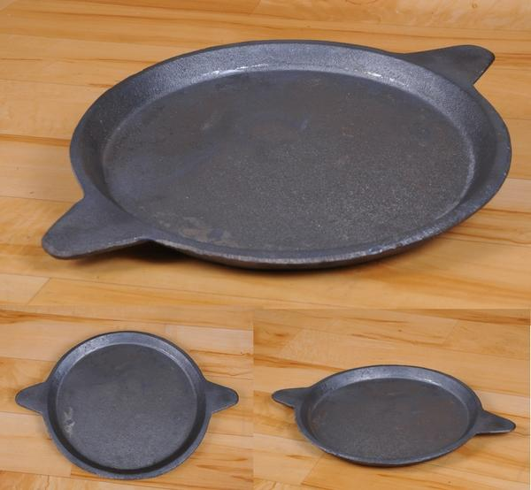 Traditional Cast Iron Dosa Tawa - Double Handle