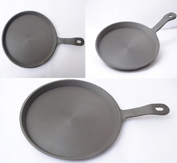 Cast Iron Dosa Tawa (Round) - Long Handle