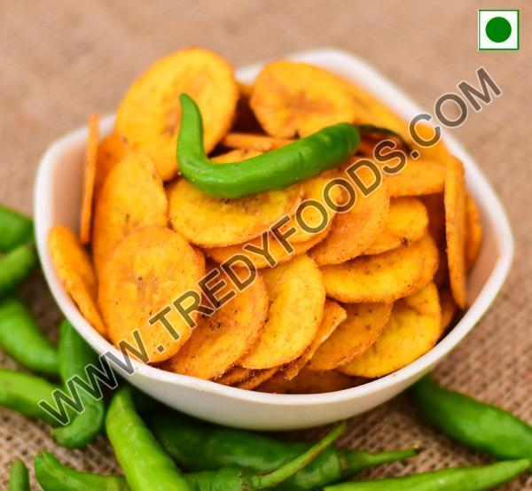 Naendram Chips (Chilly masala)