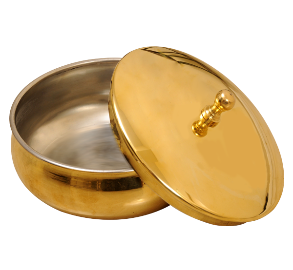 Kumbakonam Brass Prasadha Bowl 5 Inches