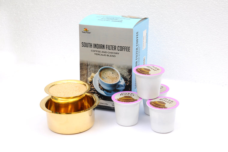 South Indian Filter Coffee with Chicory - K Cups