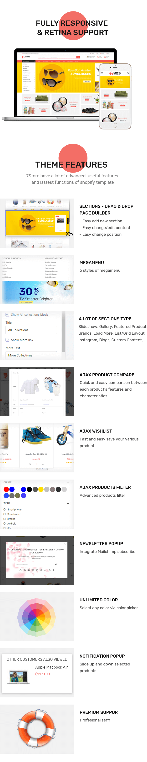 7store Features