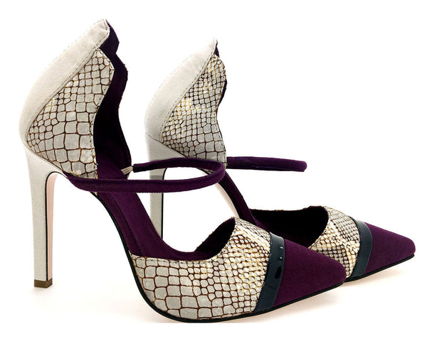 snake skin vegan pumps by Ivana Basilotta No One's Skin