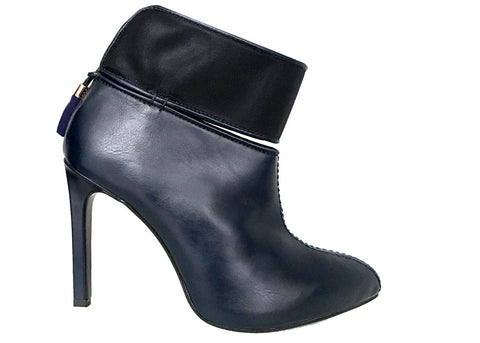 Terra blue ankle boots