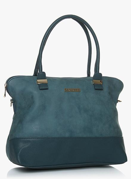 Lisa Blue Medium Satchel Bag
