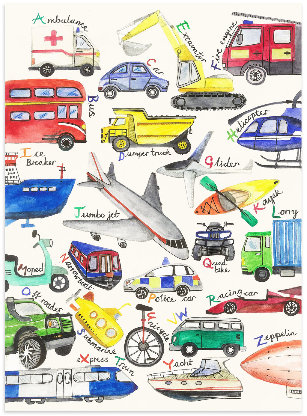 The A-Z of Transport