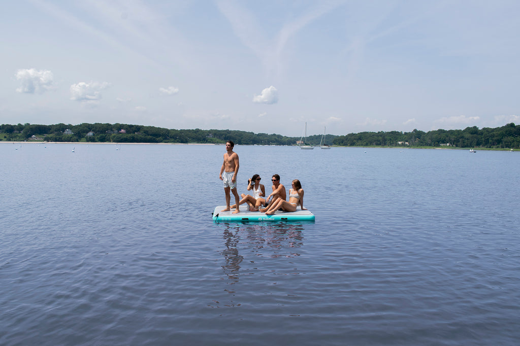 Inflatable Luxe Tract Dock 8' X 5' X 8""