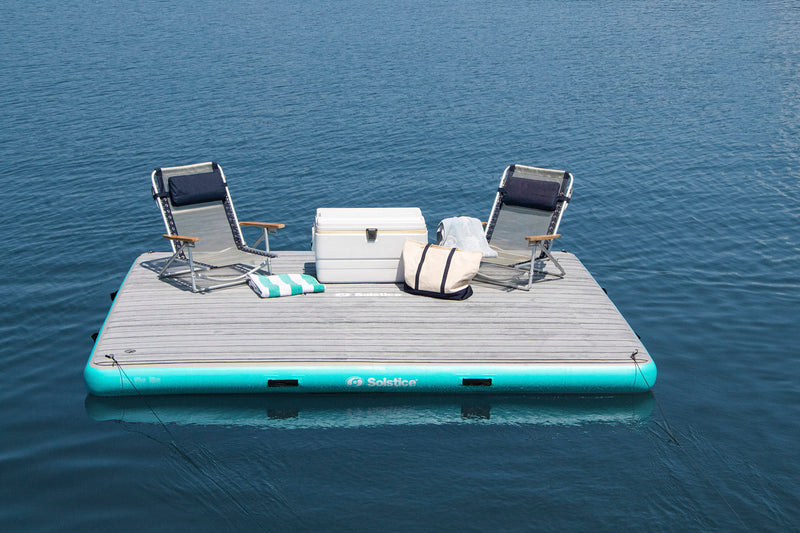 Inflatable Luxe Tract Dock 10' x 8' x 8""