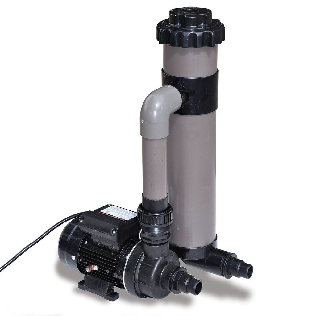 1/3 HP Cleaner Cartridge Filter System