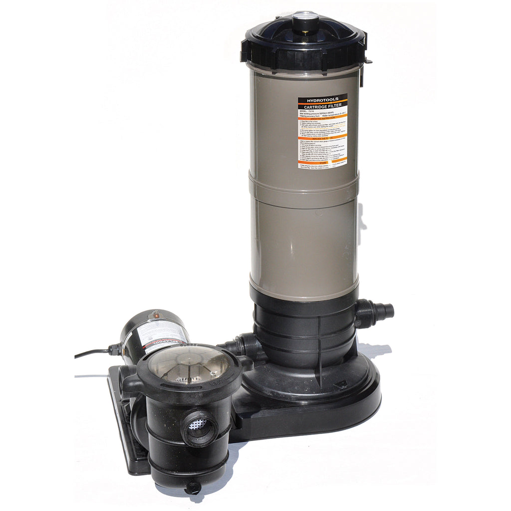 1.5 HP Cleaner Cartridge Filter System