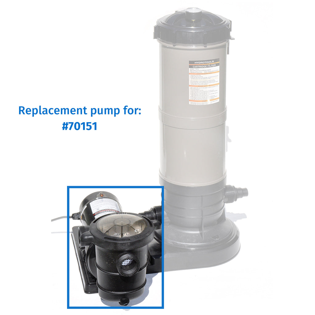 1.5 HP Pump Side Discharge w/ Pre-Filter