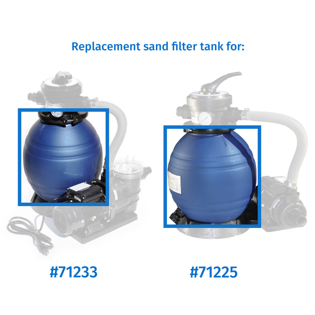 "Replacement 12"" Sand Filter Tank"