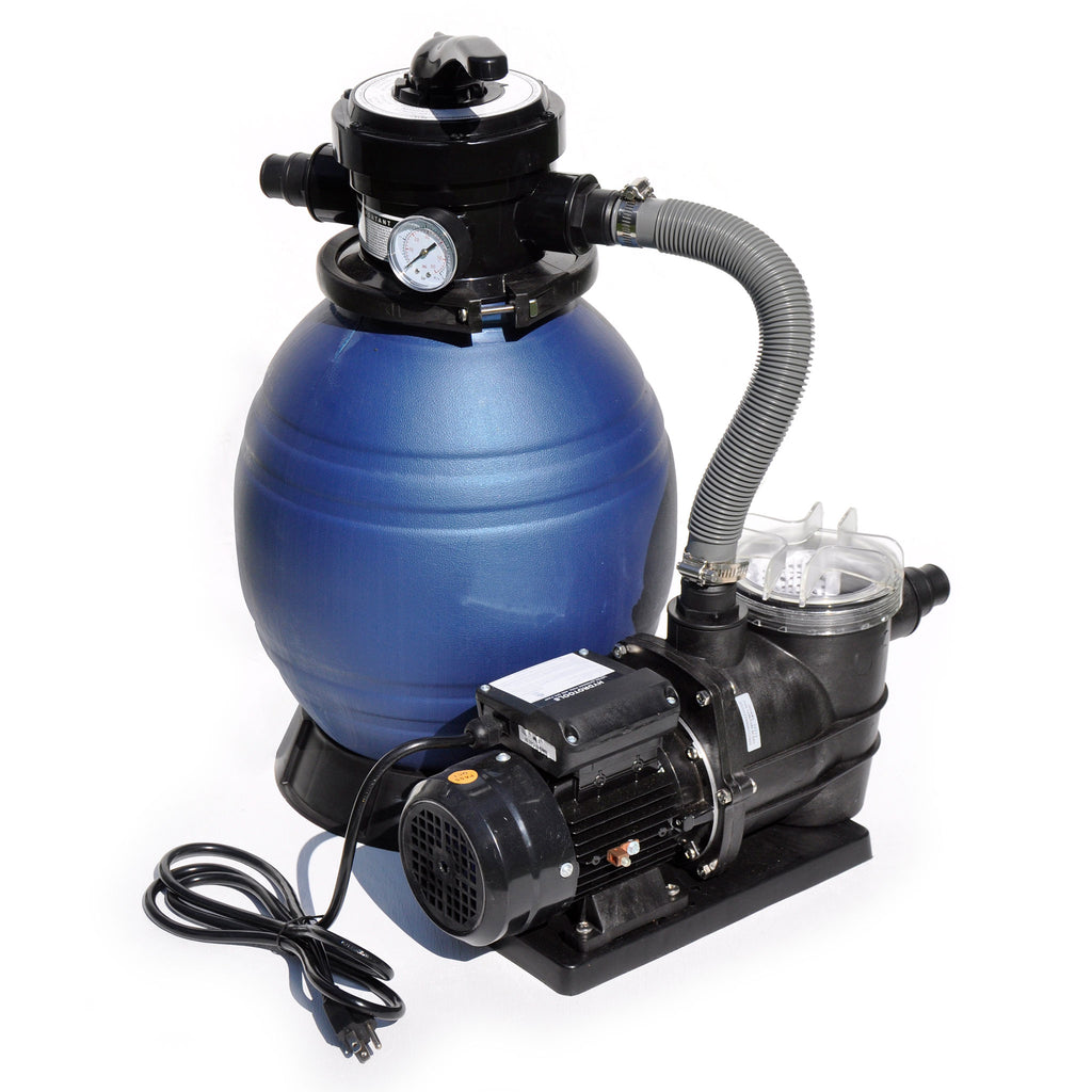 "1/3 HP Integrated 12"" Sand Filter System"