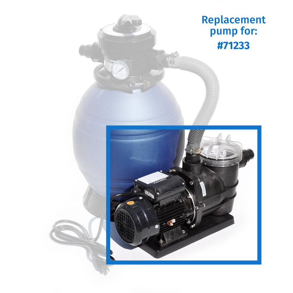 1/3 HP Pump Top Discharge w/ Pre-Filter