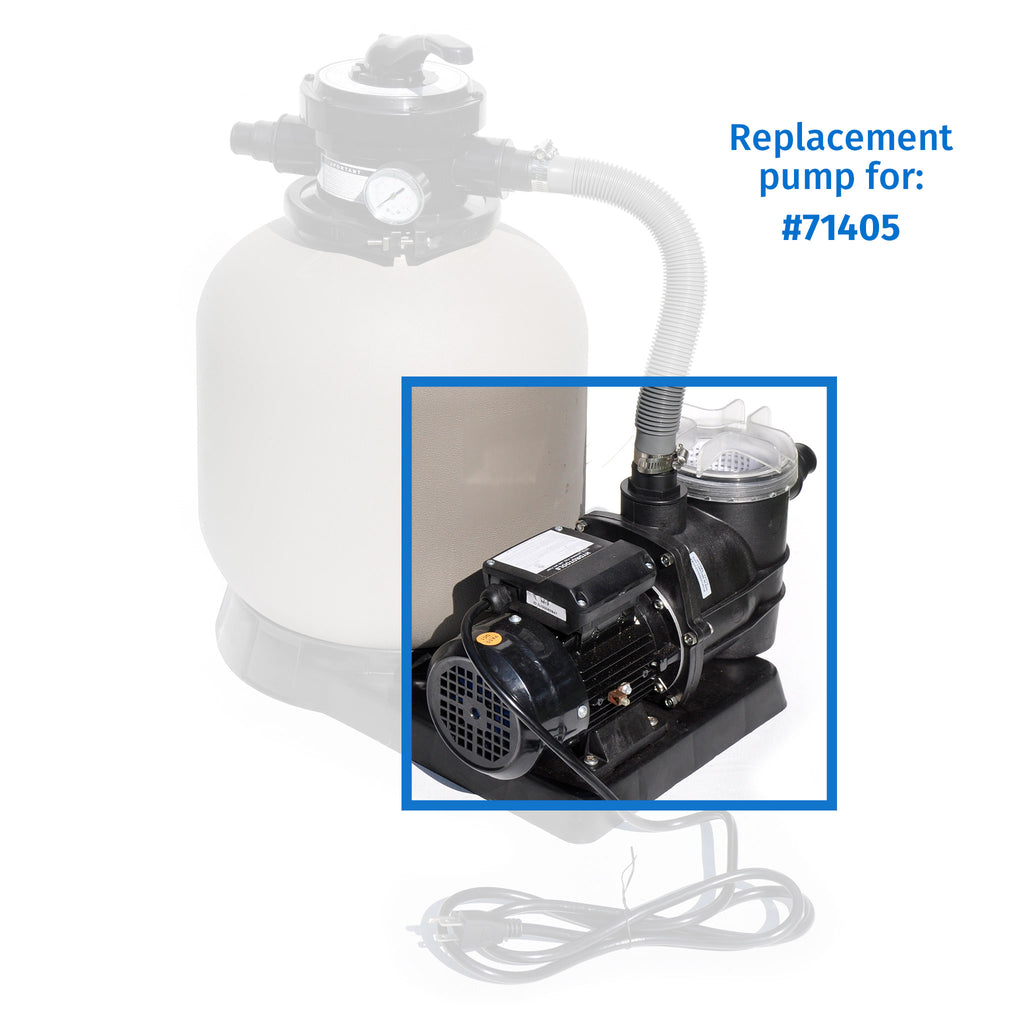 1/2 HP Pump Top Discharge w/ Pre-Filter
