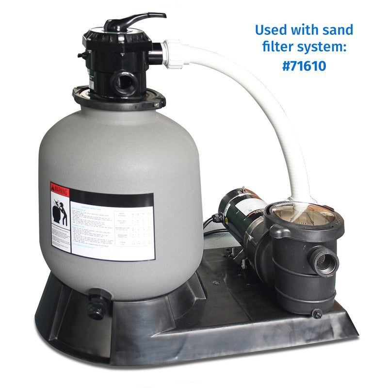 "16"" Sand Filter w/ Valve and Base"