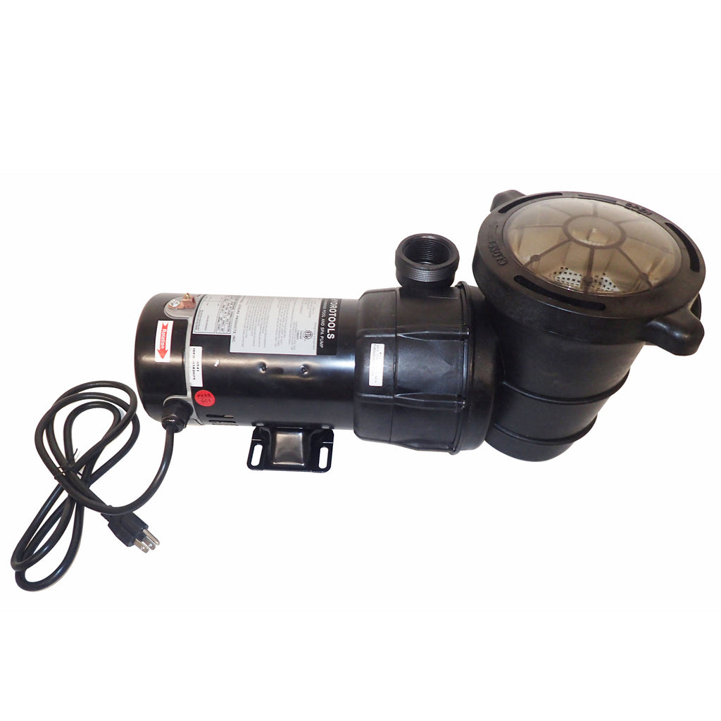 1.0 HP Pump Top Discharge w/ Pre-Filter