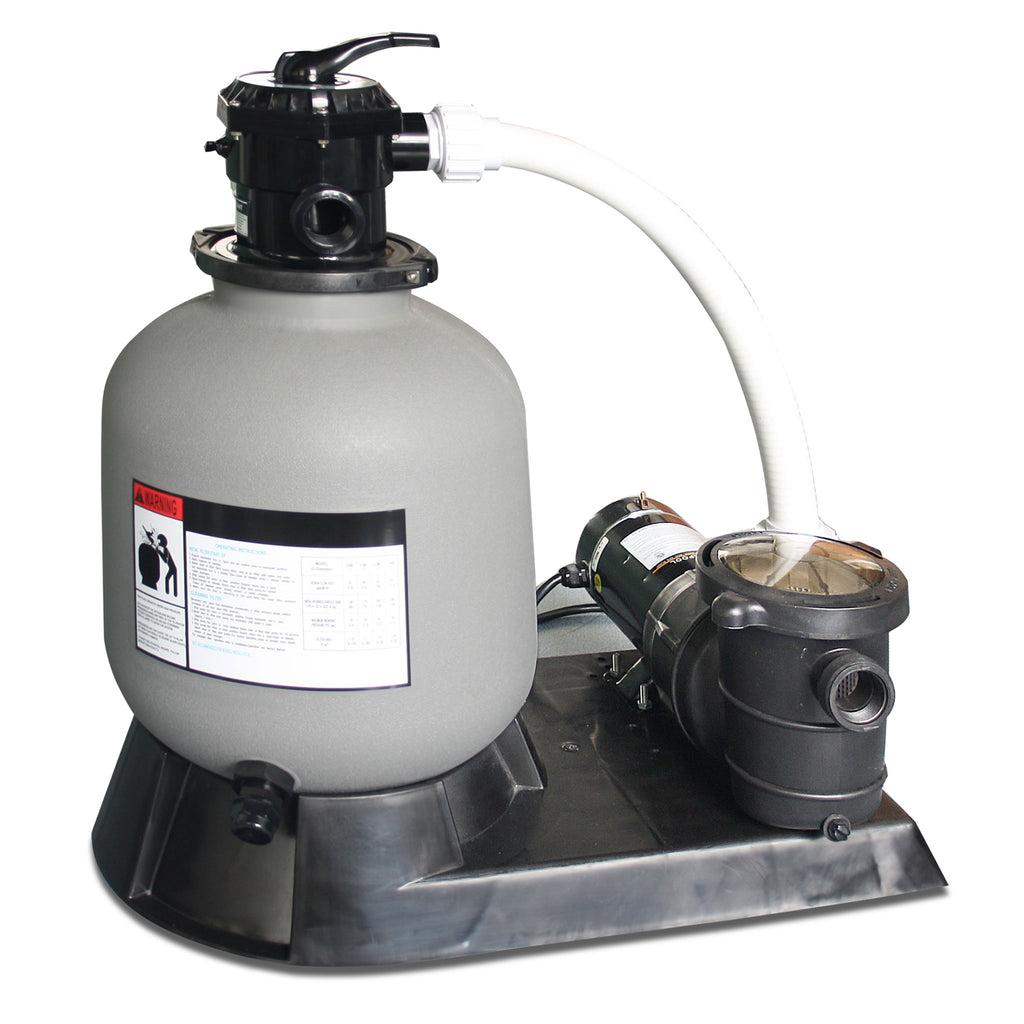 "1.0 HP 16"" Sand Filter System"