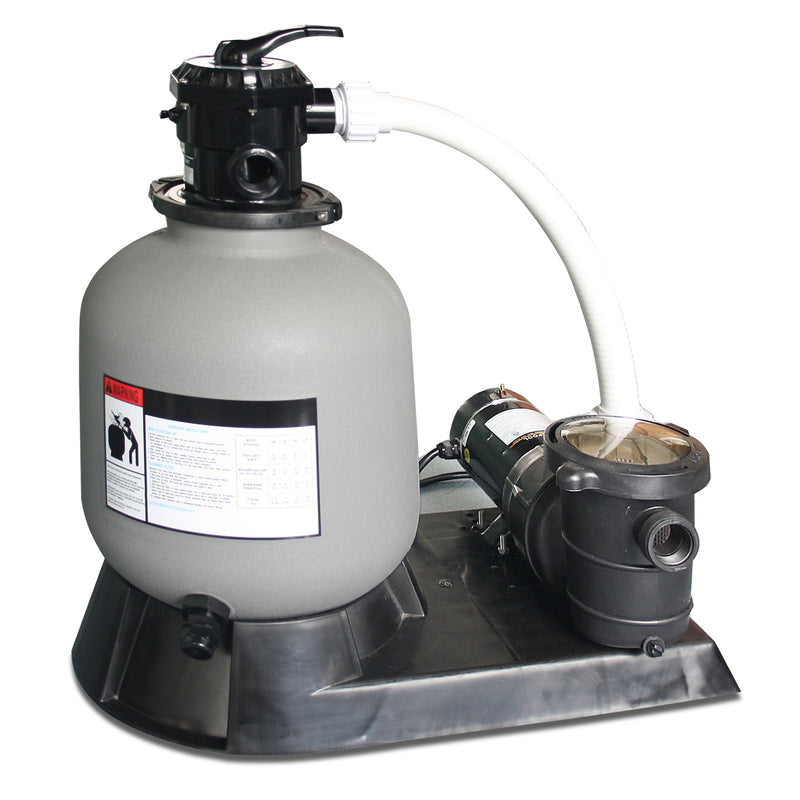 "1.5 HP 19"" Sand Filter System"