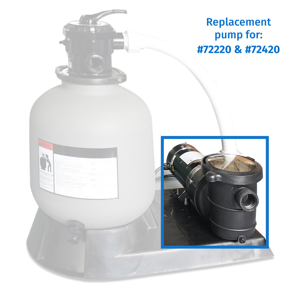 2.0 HP Pump Top Discharge w/ Pre-Filter