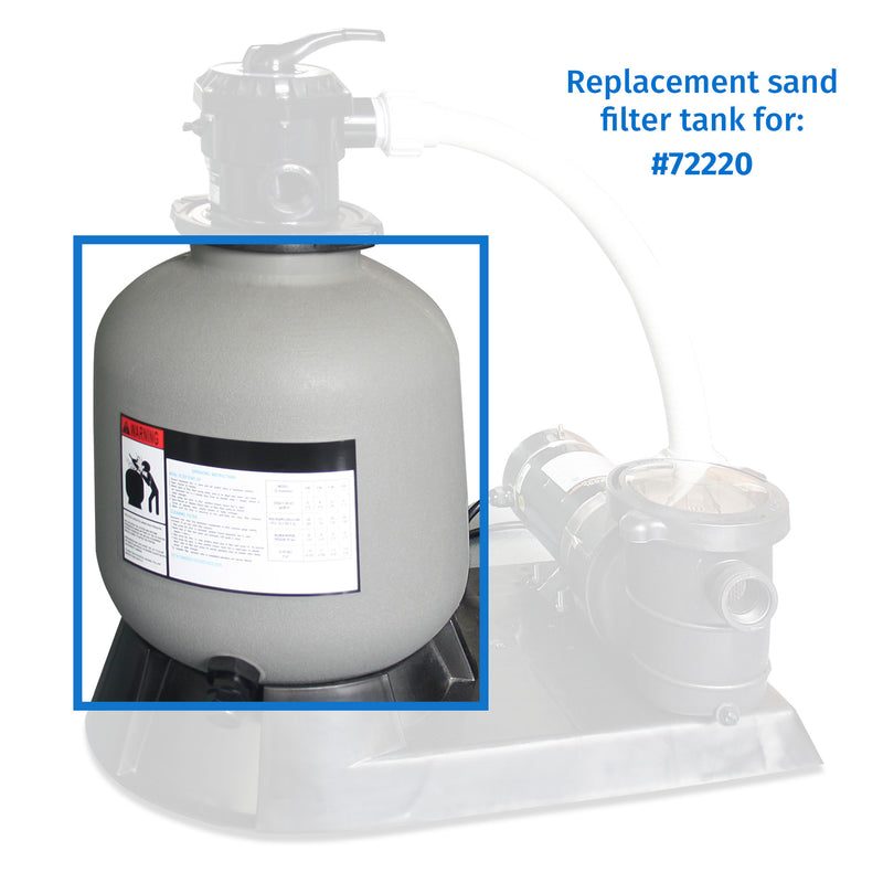 "Replacement 22"" Sand Filter Tank"
