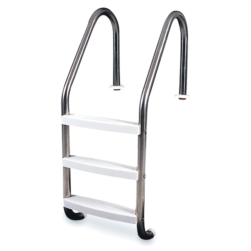 3-Step Inground Stainless Steel Ladder 52.5""