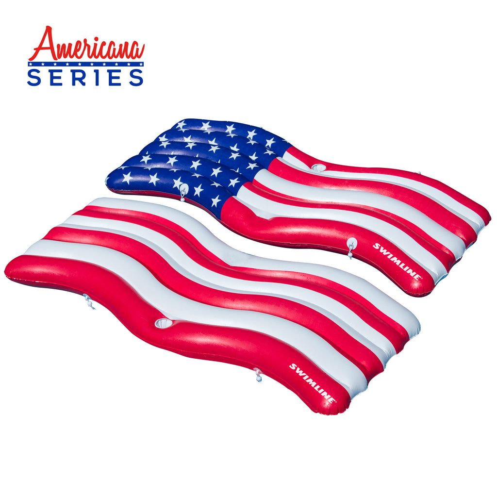 Americana™ Flag Connector Mat