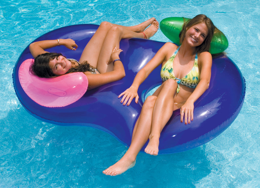 Side by Side Conversation Pool Lounger