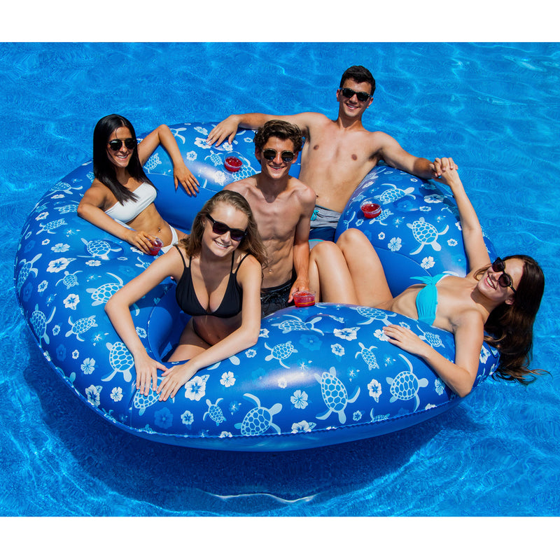 Tropical 4 Person Lounger