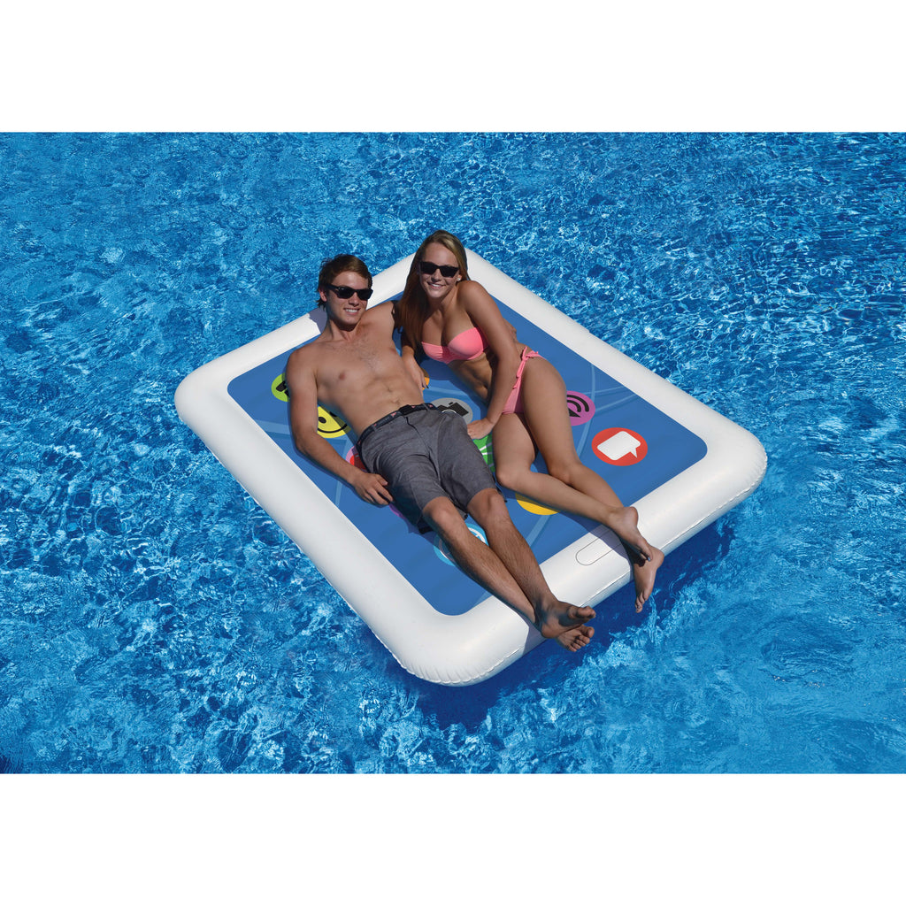 Smart Tablet Double Pool Float