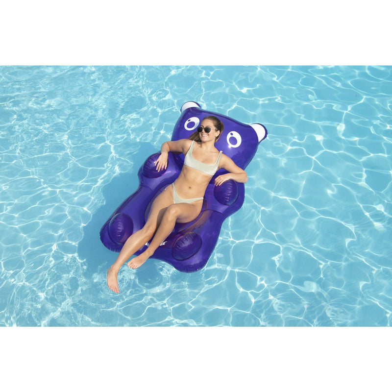 Purple Gummy Bear Float