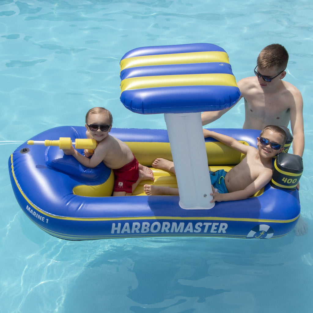 Harbor Master Patrol Boat With Pump Action Squirter