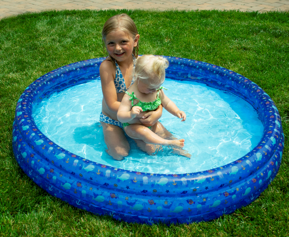 60'' Inflatable Pool