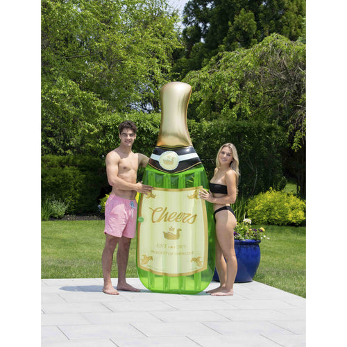 Cheers Bubbly Sparkling Wine Pool Float
