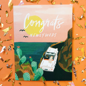 Honeymooners Card