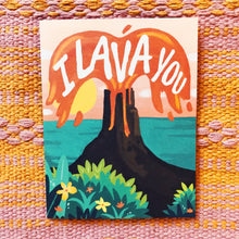 I Lava You Card