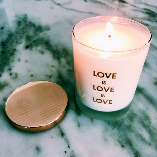 Love Is Love Candle