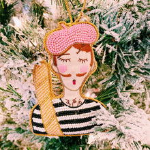 Pierre Parisian Holiday Ornament