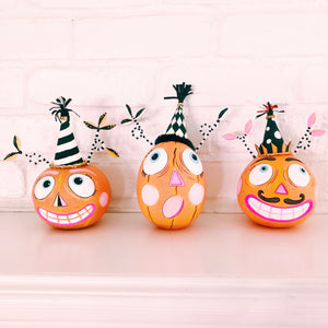 Halloween Party Pumpkins Set of 3