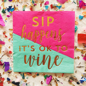 Sip Happens Napkins
