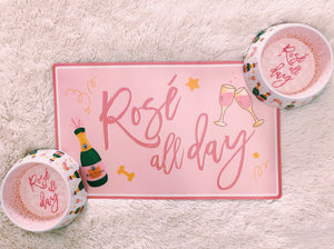 Rosé All Day Placemat