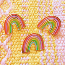 Rainbow Pin + Post