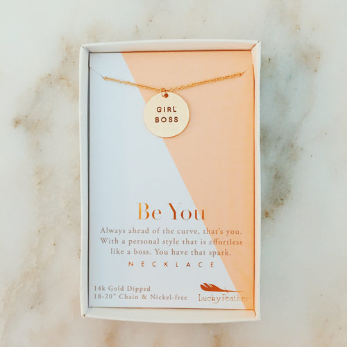 Girl Boss Necklace