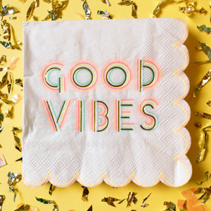 Good Vibes Napkins