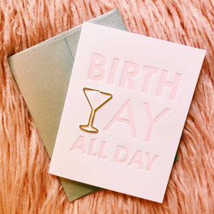 Birth Yay All Day Card