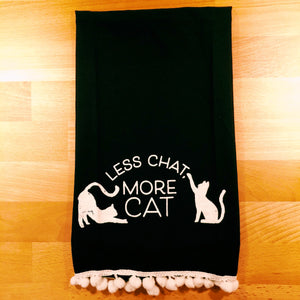 More Cat Tea Towel