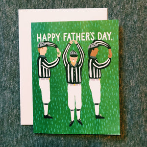 Dad Referees Card