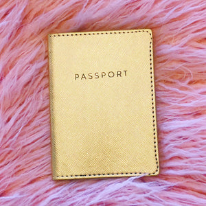 Gold Passport Holder